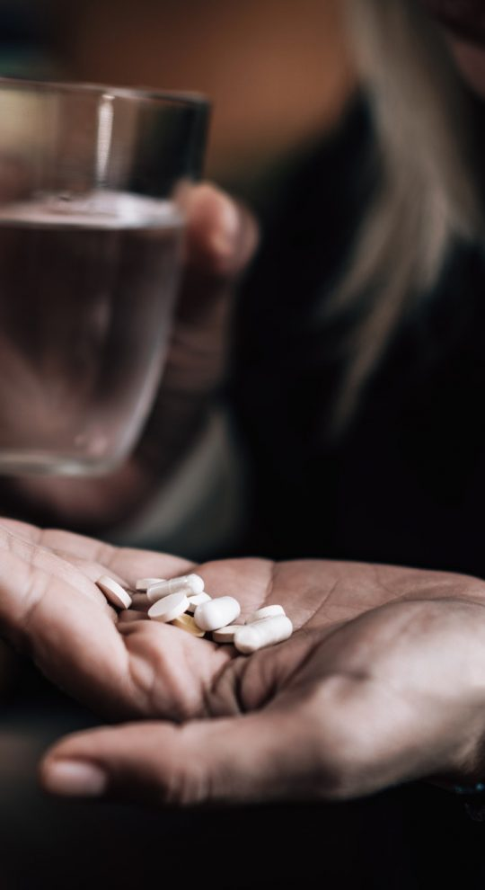 Overdosing with medications